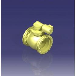 Vanne sphérique à moteur Engimodels EM103 - MAKETIS