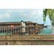Rambarde moderne Weinert pour pont ou viaduc, longueur 84 cm