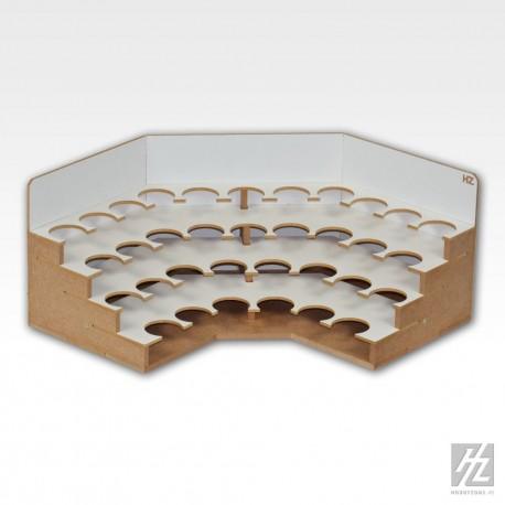 Module d'angle pour pots de peinture 36mm