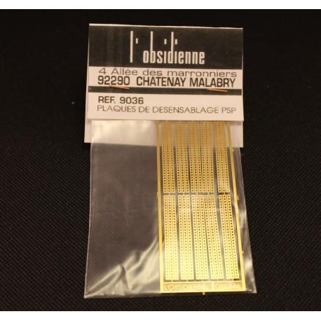 Plaques de désensablage P.S.P. 10 pièces - MAKETIS