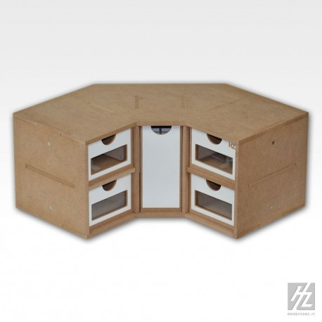Module à tiroirs en angle - MAKETIS