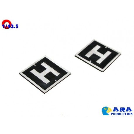 2 Pancartes H [O] - MAKETIS