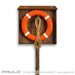 Support pour bouée de sauvetage