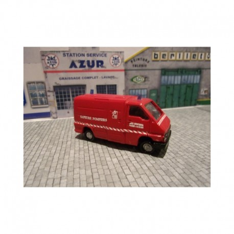 Camionnette Renault Master 1 pompier VTU