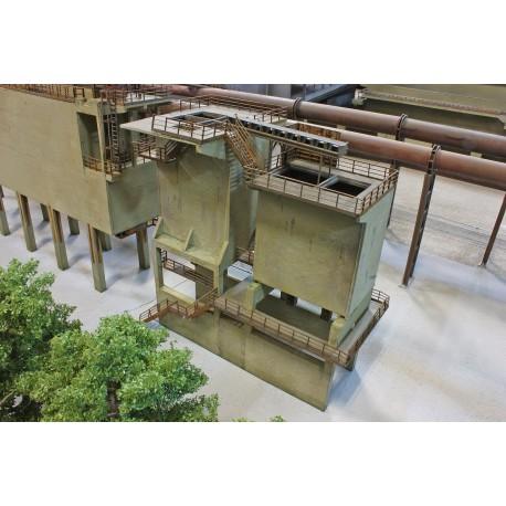 Petit poste de chargement de matériaux en vrac Joswood JW17099 - MAKETIS