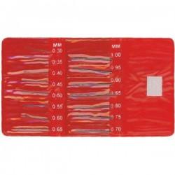 Set de 15 forets HSS Holi 0,30 à 1mm