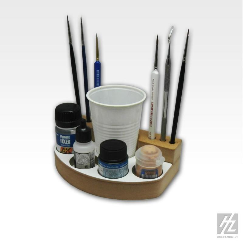 support pour outils de peinture hobbyzone pour le mod lisme hzsm1. Black Bedroom Furniture Sets. Home Design Ideas
