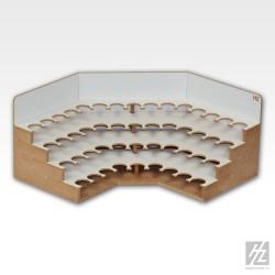 Module d'angle pour pots de peinture 26mm HobbyZone OM06s