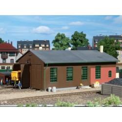Dépôt de locomotives HO Auhagen 11332