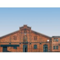 Fond de décor en relief - bâtiments industriels HO/TT Auhagen 42506