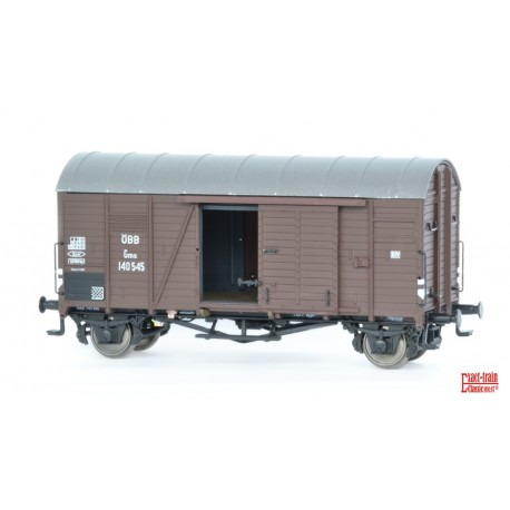 Wagon couvert ÖBB Oppeln Gms HO Exact-Train. Epoque III EX20106 - MAKETIS