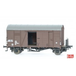 Rame de 3 wagons couverts ÖBB Oppeln HO Exact-Train. Epoque IV