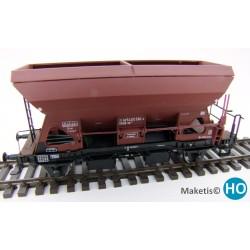 Wagon trémie Otmm 52 sans freins, DB, HO Exact-Train. Epoque IV