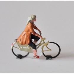 Cycliste femme assemblé pour système Magnorail MR135.2 - MAKETIS
