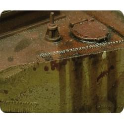 Effet moteur Prince August - Weathering - MAKETIS