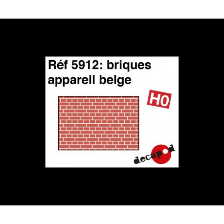 Briques appareil belge [HO]