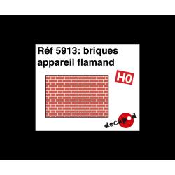 Briques appareil flamand [HO]