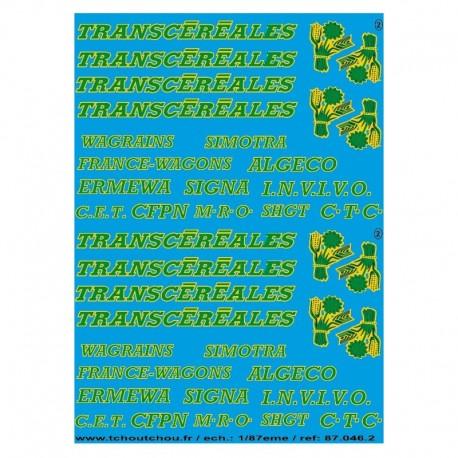 Logos Transcéréales HO Tchoutchou
