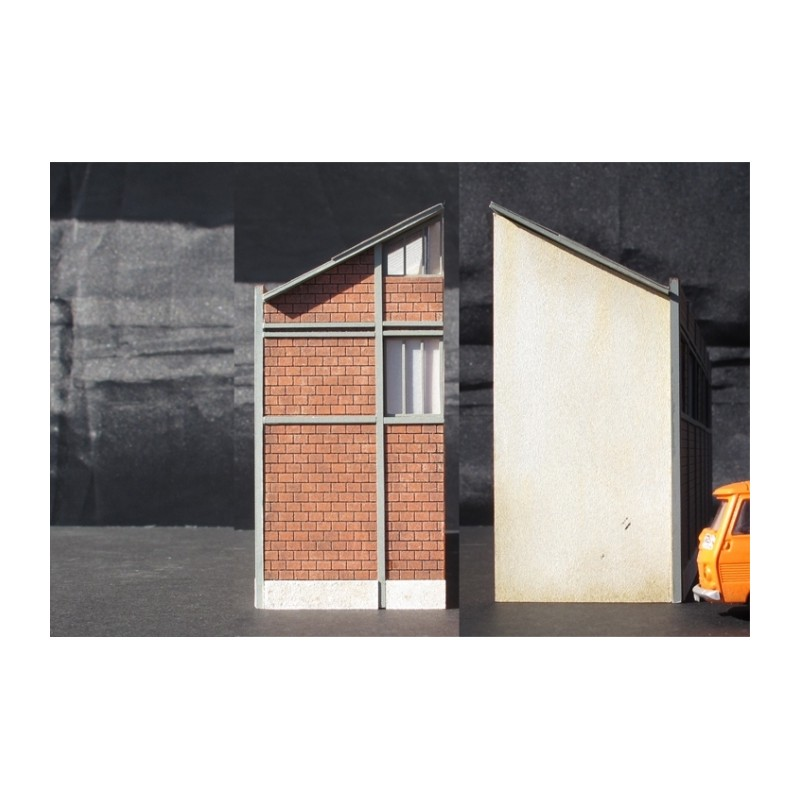usine briques creuses avec portes ho cit s miniatures bv 001p. Black Bedroom Furniture Sets. Home Design Ideas