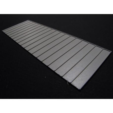 Pans de toiture zinc pré-assemblés (3 x 103x35) N