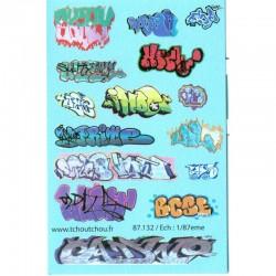 Tags et Graffitis divers HO Tchoutchou
