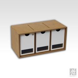 Module 3 tiroirs Hobbyzone - MAKETIS
