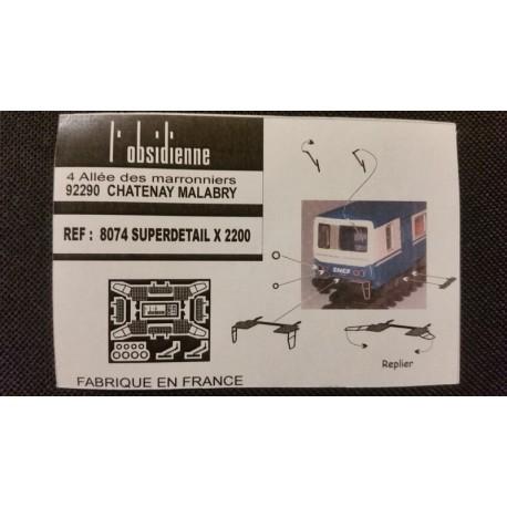 Superdétaillage X 2200