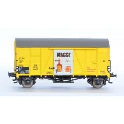 Wagon couvert DB Oppeln Maggi HO Exact-Train. Epoque III