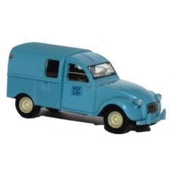 Citroën 2CV Fourgonnette 1961, AZU, EDF/GDF (Brekina 14113)