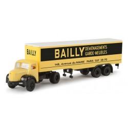 Semi-remorque Berliet TLR8 Tolé, BAILLY