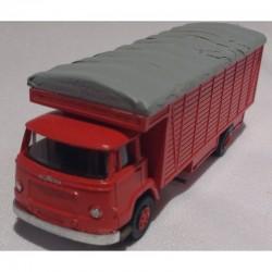 UNIC esterel carrossé en primeur - rouge - HO 1/87eme - MAKETIS