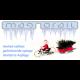 Tandem Farhrrad, fertig montiert, HO für Magnorail System MR252.0 - MAKETIS