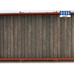 Plancher en bois standard pour wagon 150x30mm