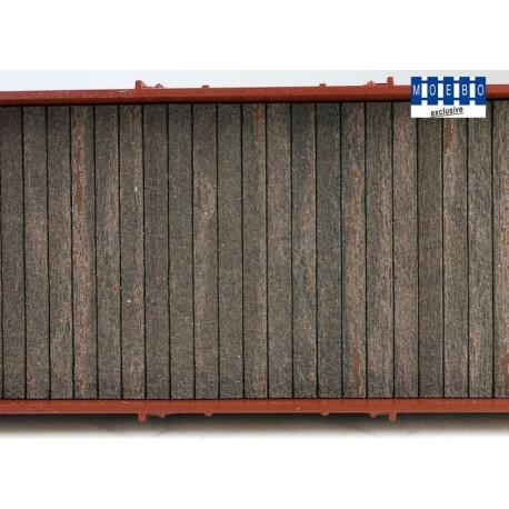 Plancher en bois standard pour wagon 200x35mm