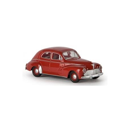 Peugeot 203, rouge grenat