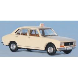 Peugeot 504, taxi blanc Brekina SAI 2095.1
