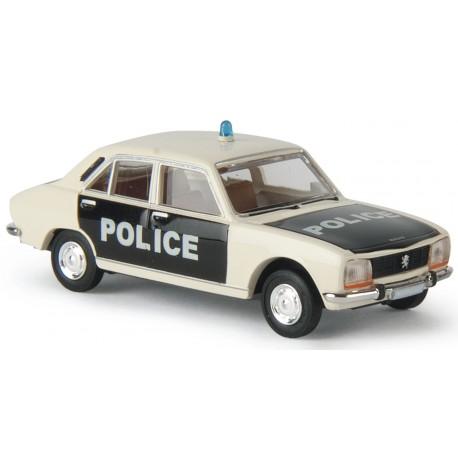 Peugeot 504, police Brekina 29108 - MAKETIS
