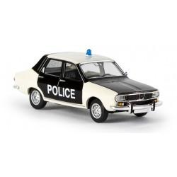Renault 12, police pie Brekina 14506