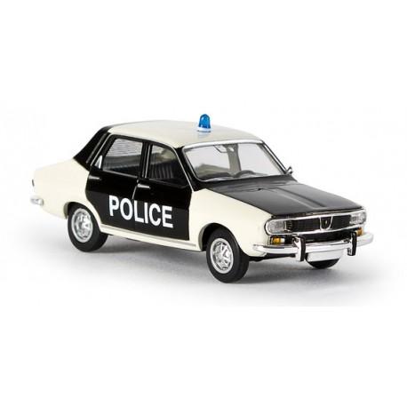 Renault 12, police pie Brekina 14506 - MAKETIS