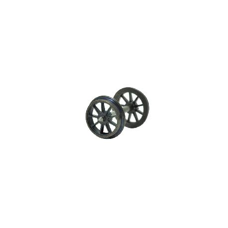 Set de 2 Essieux OCEM Roues Rayons D 1050 HO REE XB-200-02 - MAKETIS