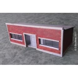 Lampisterie HO murs briques Cités Miniatures ED-028-1-HO-B