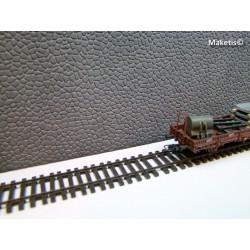 Mur en moellons gris Weinert HO 34001-Maketis