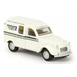 Citroën 2 CV fourgonnette AZU 1961, UTA (Brekina 14190)