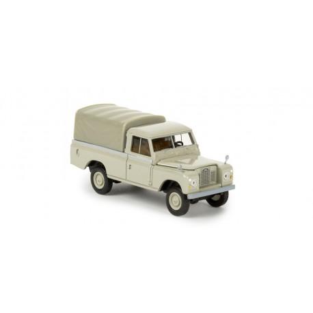 Land Rover 109 bâché gris jaune HO Brekina (13778)