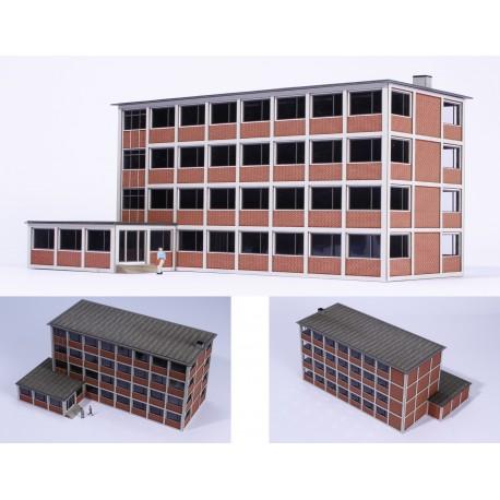 Bâtiment administratif avec annexe