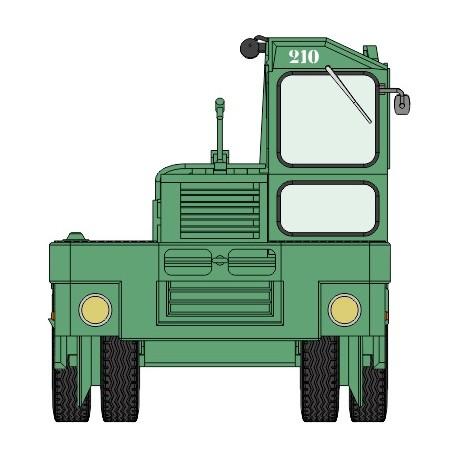 """Tracteur """"KANGOUROU"""" Vert N° 210 HO REE CB-062"""