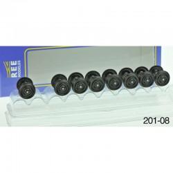 Set de 8 Essieux OCEM Roues Pleines D 1050 HO REE XB-201-08