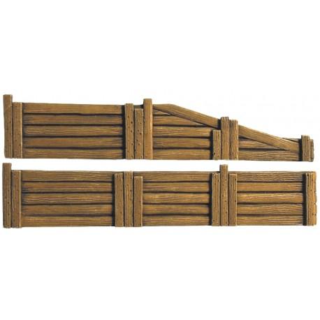Vieux quai en bois HO Artmaster 80595