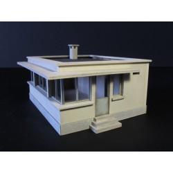 Cabine d'aiguillage HO (grande) Cités Miniatures ED-026-2-HO - MAKETIS