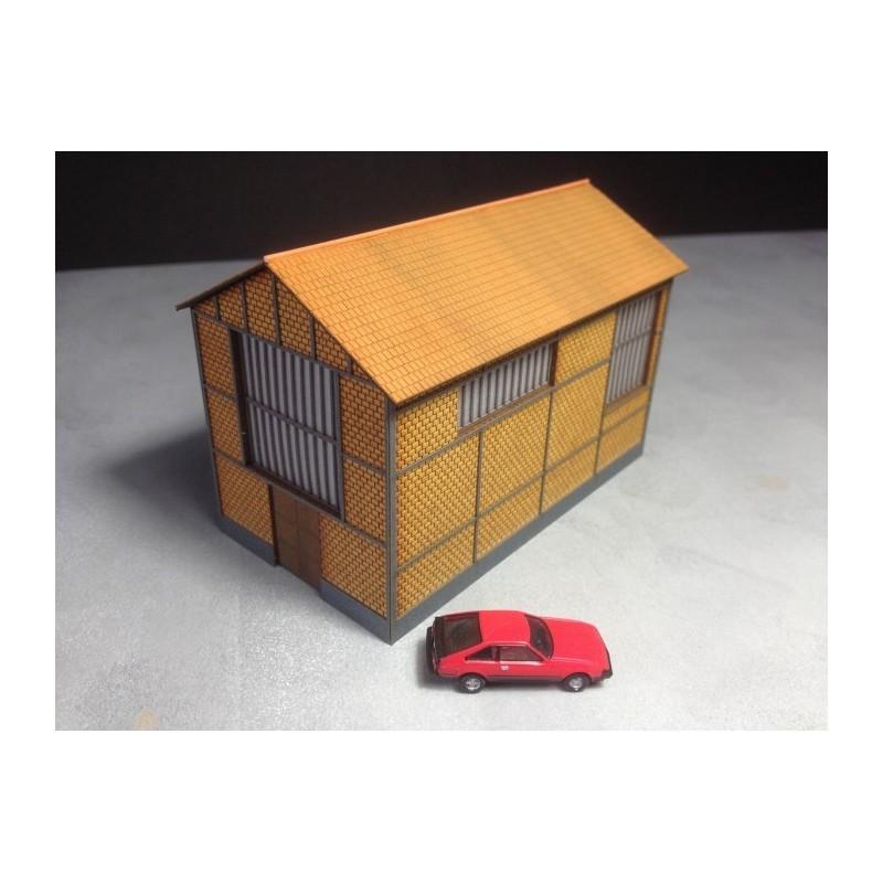 usine chaufferie briques creuses echelle n cit s. Black Bedroom Furniture Sets. Home Design Ideas